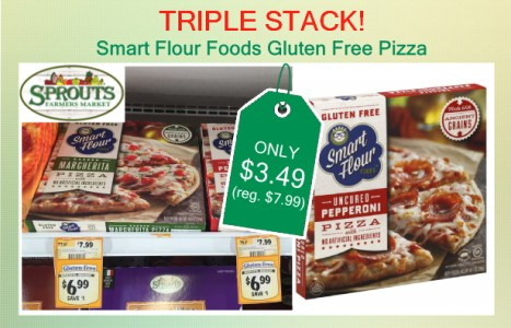 Smart Flour Foods Gluten Free Pizza coupon deal
