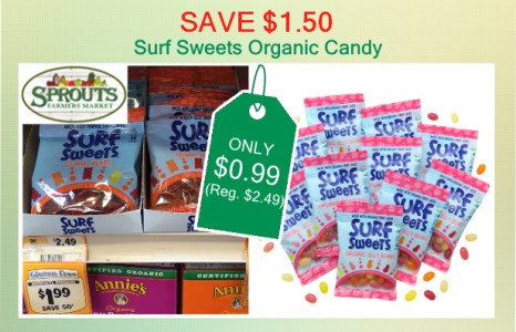 Surf Sweets Organic Candy coupon deal