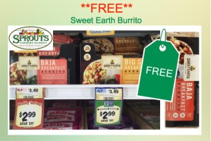 Sweet Earth Burrito Coupon Deal