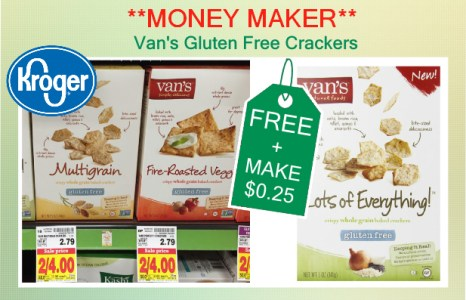 Van's Gluten Free Crackers coupon deal 1