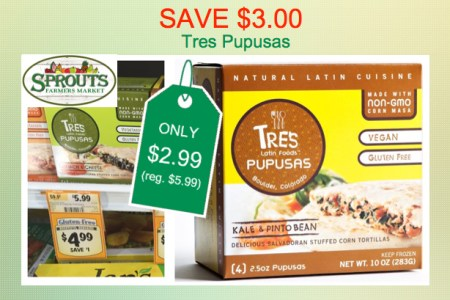 tres pupusas coupon deal