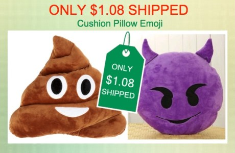 Cushion Pillow Emoji