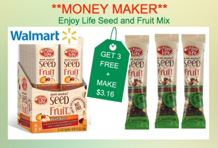 Enjoy Life Fruit and Seed Mix Coupon Dea