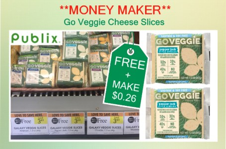 Go Veggie Cheese Slices coupon deal 3