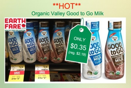 Organic Valley Good To Go Milk Coupon Deal