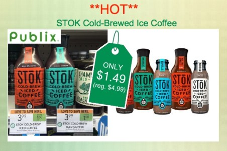 STOK Cold Brew Iced Coffee Coupon Deal