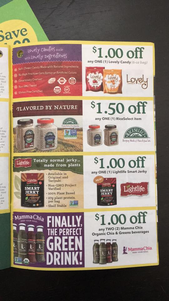 New Whole Foods Coupons For Septemper October Stacks