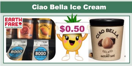 Ciao Bella Ice Cream Coupon Deal BOGO