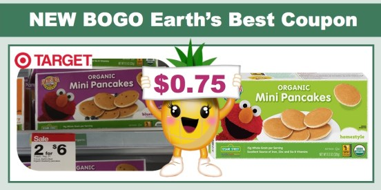 Earth's Best BOGO Coupon