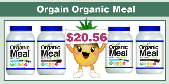 Orgain Organic Meal All-in-One Nutrition coupon deal