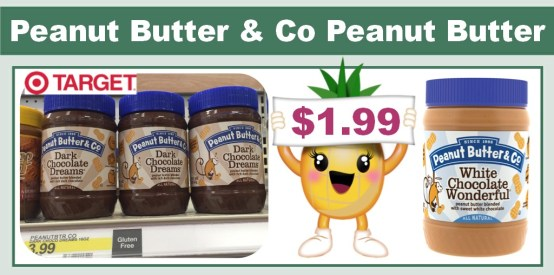 Peanut Butter and Co Peanut Butter coupon deal