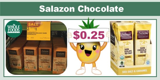 Salazon Chocolate coupon deal