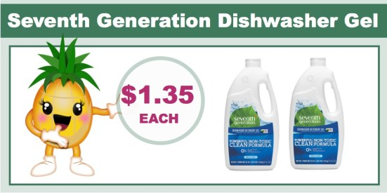 Seventh Generation Dishwasher Gel