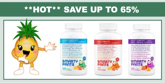 SmartyPants Vitamins Coupons