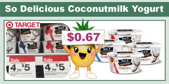 So Delicious Coconutmilk Yogurt coupon deal 1