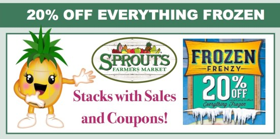 Sprouts Frozen Frenzy Sale