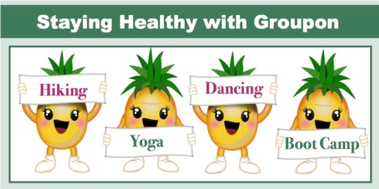 Staying Healthy With Groupon