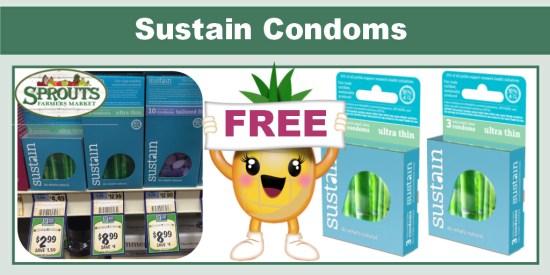 Sustain Condoms coupon deal 1