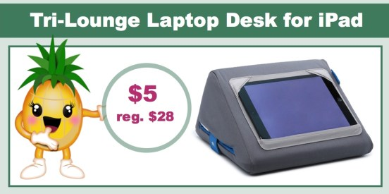Tri-Lounge Laptop Desk for iPad