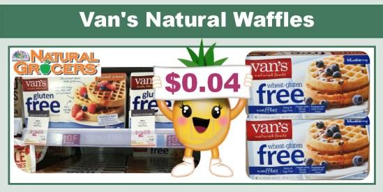 Van's Natural Waffles Coupon Deal