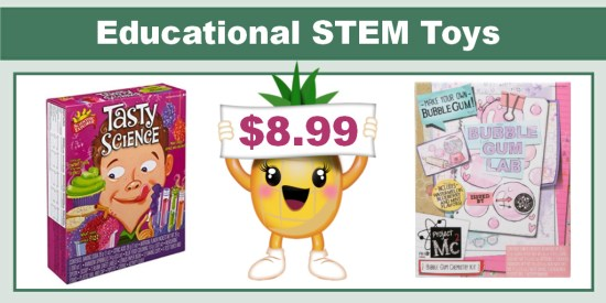 educational stem toys coupon deal