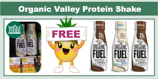 Organic Valley Protein Shake Coupon Deal