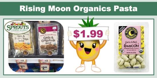 rising moon organics pasta coupon deal