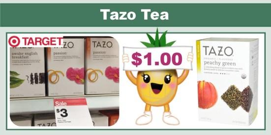 Tazo Tea coupon deal