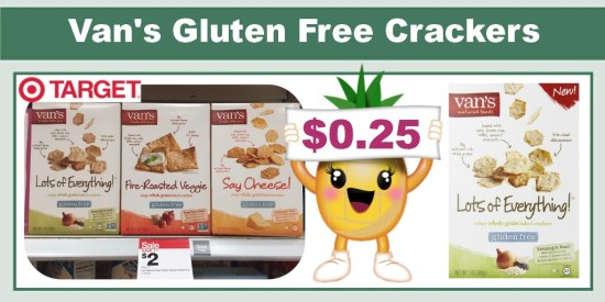 van's gluten free crackers coupon deal