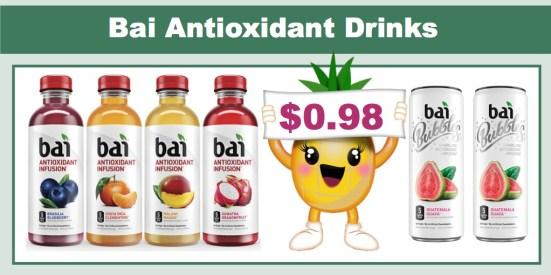 bai antioxidant drinks