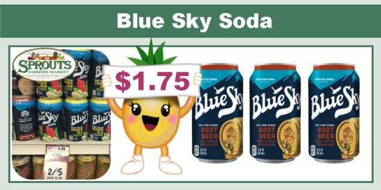 Blue Sky Soda coupon deal