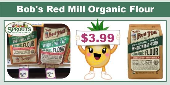 Bob's Red Mill Organic Flour coupon deal