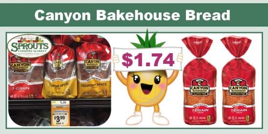 canyon bakehouse bread coupon deal