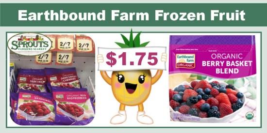 Earthbound Farm Frozen Fruit Coupon Deal