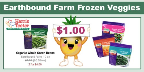Earthbound Farm Frozen Veggies Coupon Deal