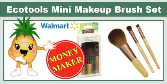 Ecotools Mini Essentials Makeup Brush Set Coupon Deal