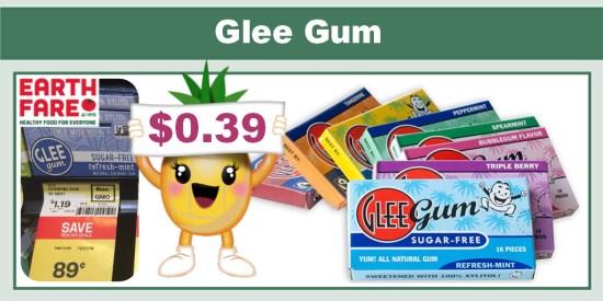 glee gum coupon deal