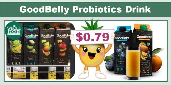 goodbelly probiotics drink coupon deal