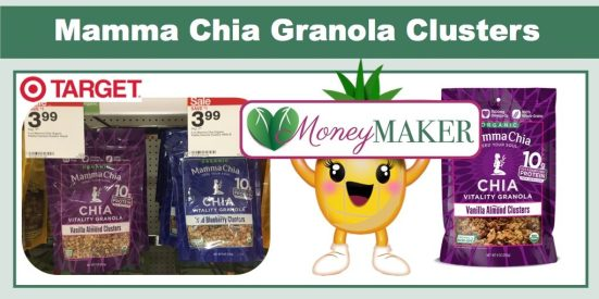 mamma chia granola clusters coupon deal
