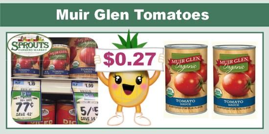 Muir Glen Tomatoes Coupon Deal