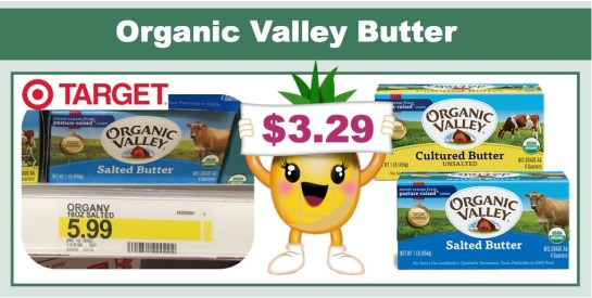organic valley butter coupon deal