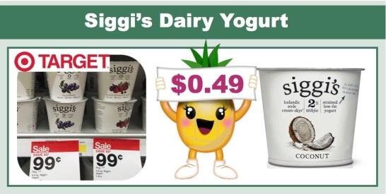 Siggi's Dairy Yogurt Coupon Deal