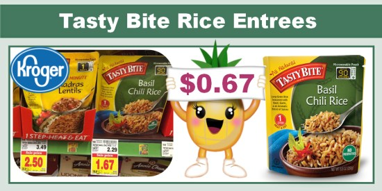 Tasty Bite Rice Entrees coupon deal