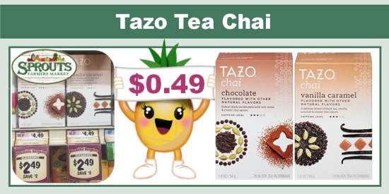 Tazo Tea Chai Coupon Deal