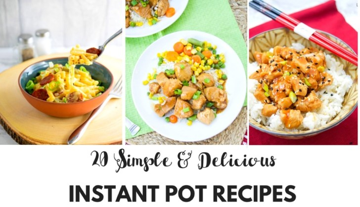 20 Simple & Delicious Instant Pot Recipes