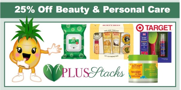 Target: 25% off Beauty & Personal Care Plus Stacks!