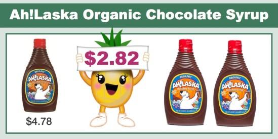 ah!aska organic chocolate syrup coupon deal