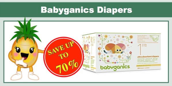 Babyganics Diapers Coupon