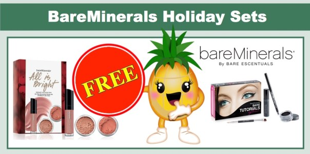 FREE BareMinerals Holiday Sets!!