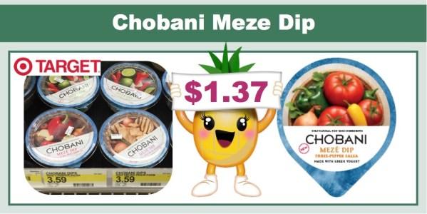 chobani meze dip coupon deal